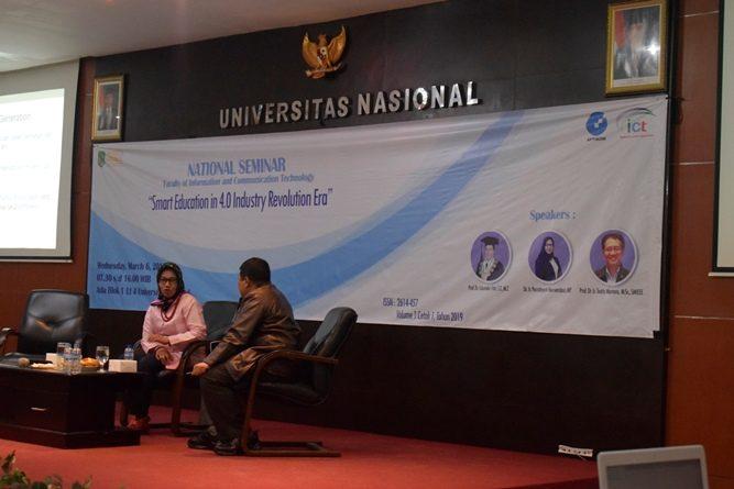 Para pembicara dalam seminar nasional FTKI