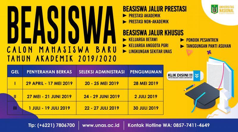 Informasi-Beasiswa-MABA-UNAS-19-20