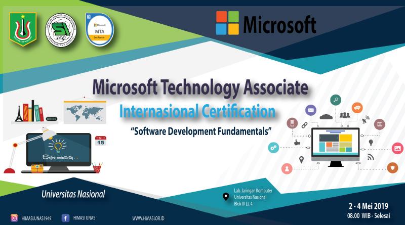 MICROSOFT-TECHNOLOGY-ASSOCIATE-INTERNATIONAL-CERTIFICATION