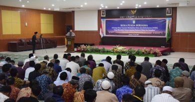 Tingkatkan Silaturahmi, Civitas Akademika UNAS Adakan Buka Bersama