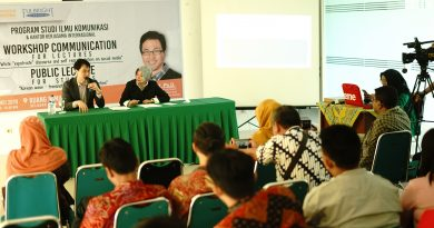 workshop communication, public lecture and media visit with Us Fulbright Resource Person, David Oh, Ph. D