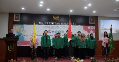Pelantikan pengurus himpunan oleh Wakil Dekan bidang Kemahasiswaan, Aos Yuli Firdaus, S.IP., M.Si. (2)