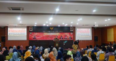 """Seminar Nasional """"Rekonsolidasi Implementasi Ideologi Pancasila Pasca Pileg dan Pilpres Serentak 2019"""" Pada Senin (1/7) di Auditorium blok 1 lantai 4 UNAS"""