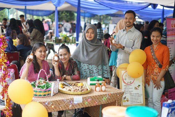 Bazar Mahasiswa Matakuliah Kewirausahaan tahun akademik 2018/2019, Lapangan Parkir Universitas Nasional pada Selasa dan Rabu (30-31/7)