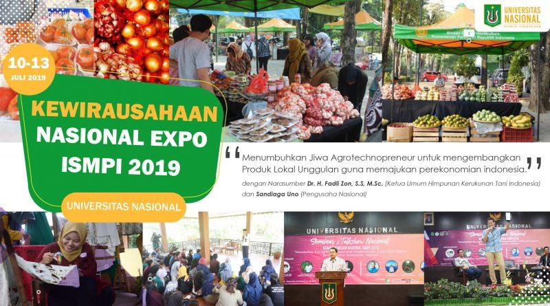 KEWIRAUSAHAAN NASIONAL EXPO ISMPI 2019 Universitas Nasional