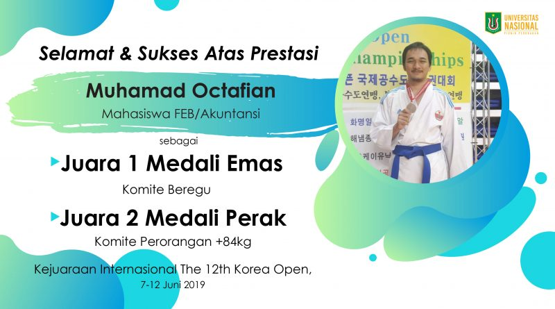 Prestasi Mahasiswa Kejuaraan Internasional The 12th Korea Open
