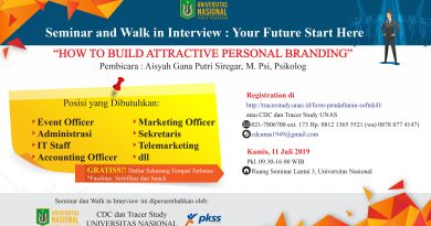Seminar and Walk in Interview : Your Future Start Here