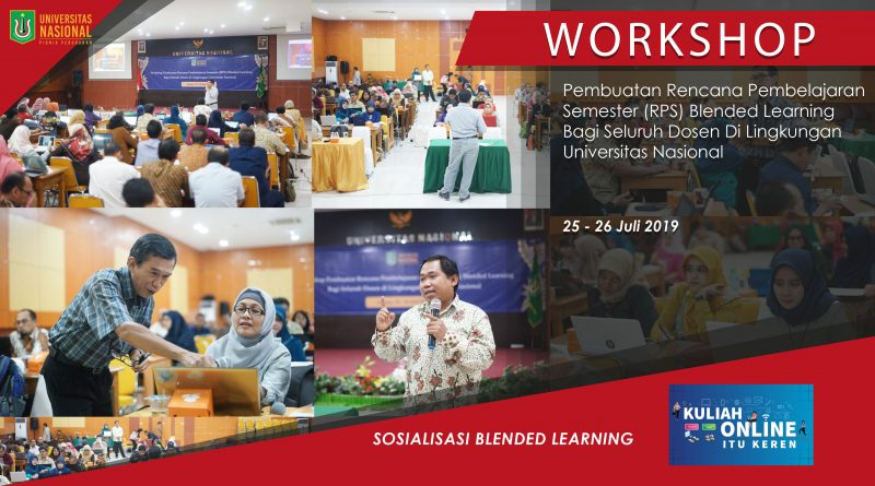 Sosialisasi Blended Learning UNAS