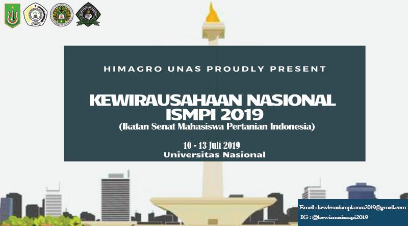KEWIRAUSAHAAN NASIONAL ISMPI 2019