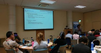 Annual Progress Meeting GCRF Blue Communities di Plymouth Marine Laboratory, Plymouth, UK pada tanggal 05 – 16 Agustus 2019