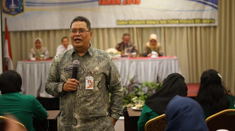 Kepala Badan Kesatuan Bangsa dan Politik Provinsi DKI Jakarta Drs. Taufan Bakri