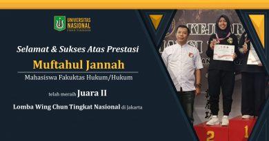 Prestasi Mahasiswa dalam Lomba Wing Chun Tingkat Nasional di Jakarta