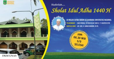 Hadirilah Sholat Idul Adha 1440 H