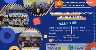Training & Sertifikasi Operator K3 Muda Batch 5