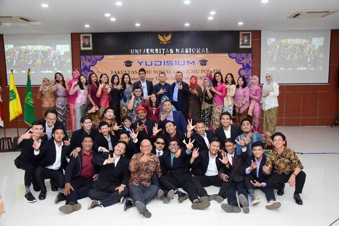 Yudisium Fakultas Ilmu Sosial dan Ilmu Politik Semester Genap 2018/2019
