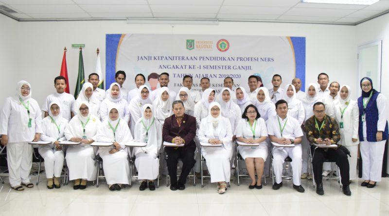 Janji Kepaniteraan Pendidikan Profesi Ners Tahun Ajaran 2019/2020