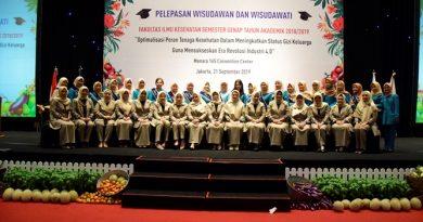 Pelepasan Wisudawan dan Wisudawati Fakultas Ilmu Kesehatan Semester Genap Tahun Akademik 2018/2019