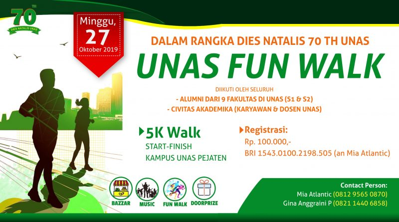 UNAS FUN WALK 2019