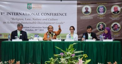1st International Conference dalam perayaan Dies Natalis UNAS ke 70 Tahun dengan Tema Religion, Law, Nature and Culture in Achieving Sustainable Development