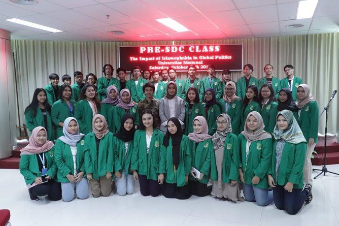 "Pre - Short Diplomatic Course ""The Impact of Islamophobia in Global Politics"" Sabtu, 26 Oktober 2019"