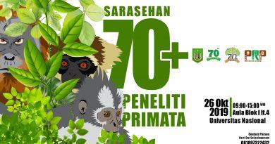 Sarasehan 70+ Peneliti Primata