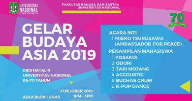 Gelar Budaya Asia 2019