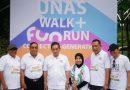 Menteri Perdagangan RI Agus Suparmanto Lepas Start UNAS Fun Walk & Run