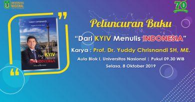 Peluncuran Buku Karya : Prof. Dr. Yuddy Chrisnandi SH, ME.