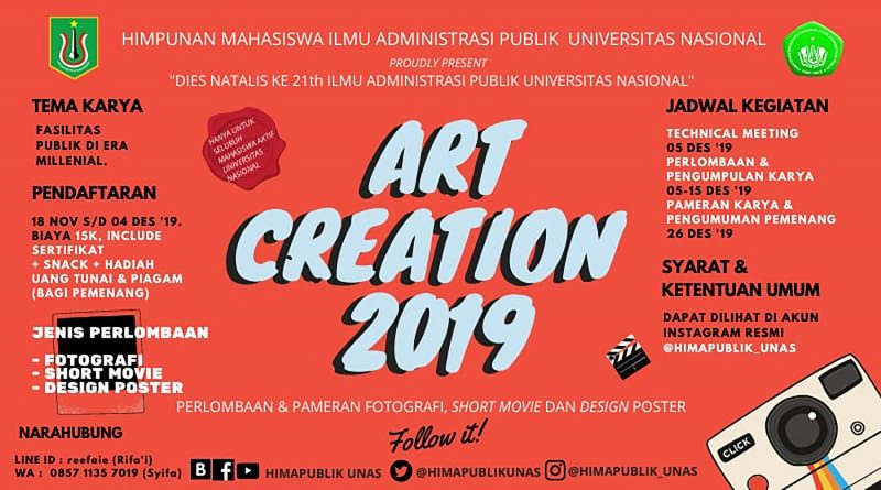 ART CREATION 2019