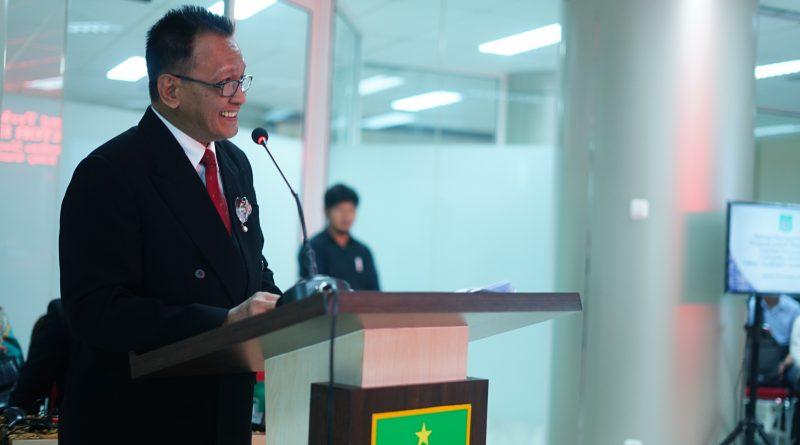 Sidang Doktoral Ilmu Politik adr. Eddy Guridno