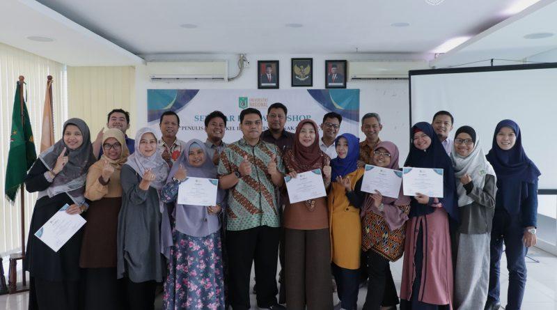 """Seminar dan Workshop """"Penulisan Artikel Ilmiah Menggunakan LATEX"""" di Ruang Seminar selasar lantai 3 Universitas Nasional, Rabu (29/1)"""