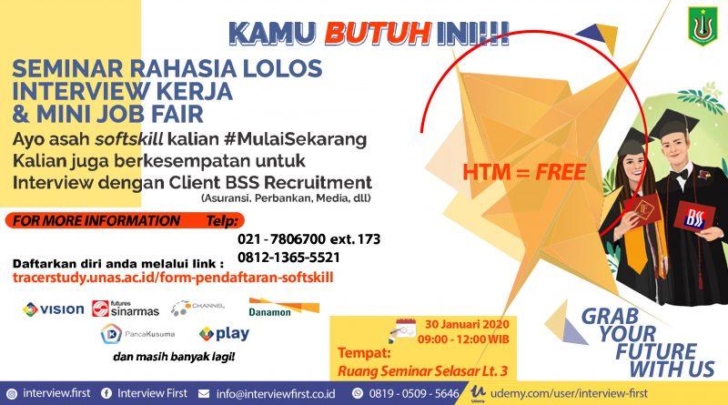 Jobfair UNAS