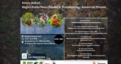 Nagara Rimba Nusa: Peluang dan Tantangan bagi Konservasi Primata