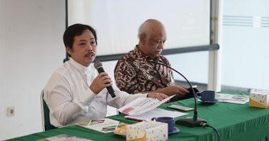 Kajian series Pusat Pengajian Islam (PPI) Universitas Nasional Jum'at (21/2) di Ruang Seminar lantai 3