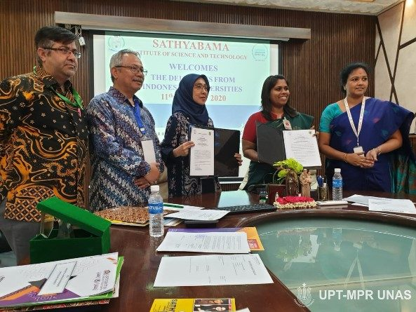 MoU dengan Sathyabama Institute of Science and Technology