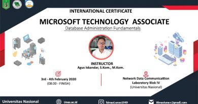 SERTIFIKASI INTERNASIONAL MTA: DATABASE ADMINISTRATION FUNDAMENTALS