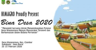 "HIMAGRO Proudly Present ""Bina Desa 2020"""