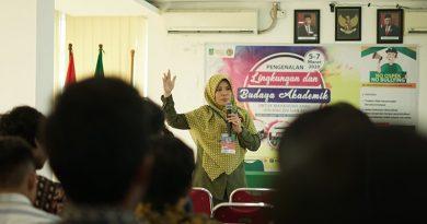 Pengenalan Lingkungan Dan Budaya Akademik Semester Genap 2019/2020 di ruang seminar Kamis (5/3)