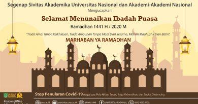 Selamat Menunaikan Ibadah Puasa Ramadhan 1441 H