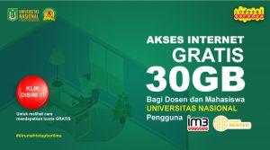 BRANDING-AKSES-INTERNET-GRATIS-UNTUK-KULIAH-ONLINE-MAHASISWA-UNAS-(INDOSAT)
