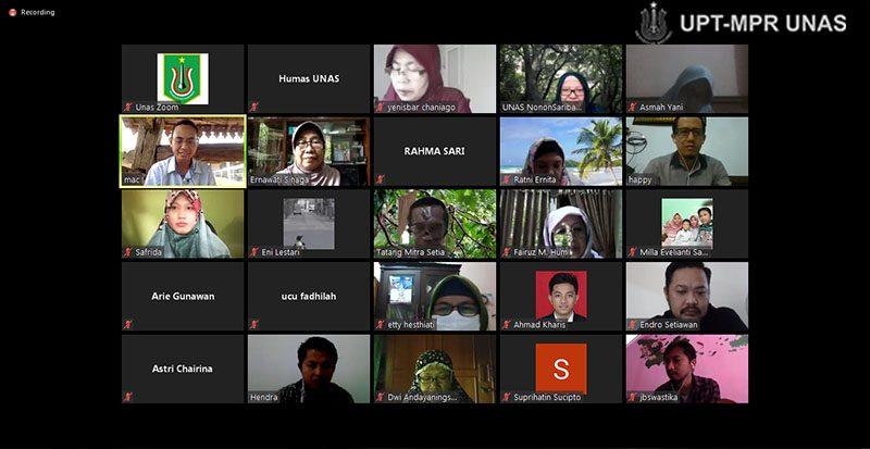 Pelatihan Dasar Komunikasi & Community Development, di Jakarta, Selasa, (19/5).