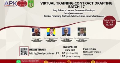 VIRTUAL TRAINING CONTRACT DRAFTING BATCH 17