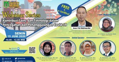 Webinar Series Kontribusi Sains dan Teknologi dalam Pencegahan dan Penanggulangan Covid-19