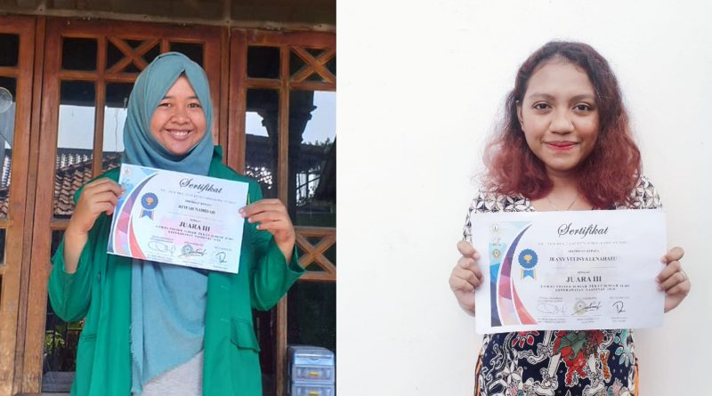 Mahasiswa FIKES menang lomba poster