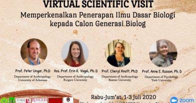 Kenalkan Ilmu Dasar Biologi, HIMABIO Adakan Kunjungan Ilmiah Secara Daring