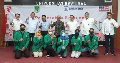 BANK BRI Memberikan Bantuan Beasiswa Indonesia Cerdas ke UNAS