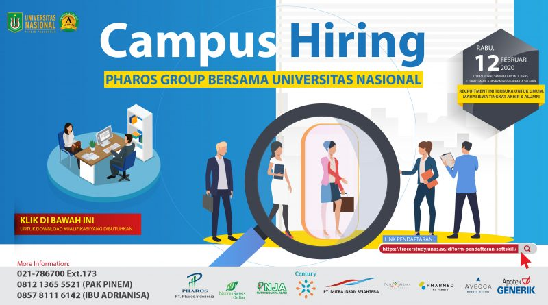 Pharos Campus Hiring at UNAS