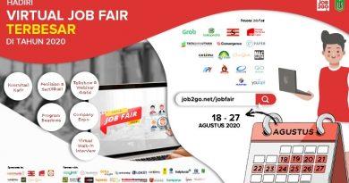 Virtual Job Fair UNAS Tahun 2020