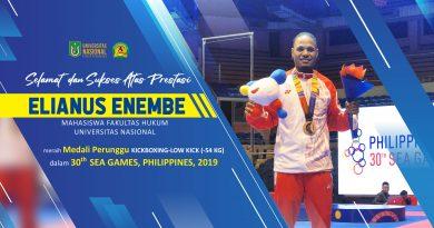 Prestasi Elianus Enembe Mahasiswa Fakultas Hukum
