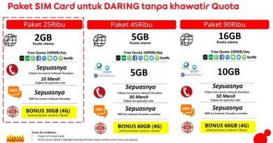Peduli Pendidikan Darling dua Operator Telekomunikasi Hadirkan Paket Internet Harga Terjangkau